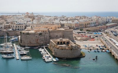 Gallipoli has the Old and New in Italy